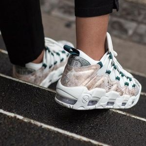 NWTNike Air More Money LX Summit White W AUTHENTIC